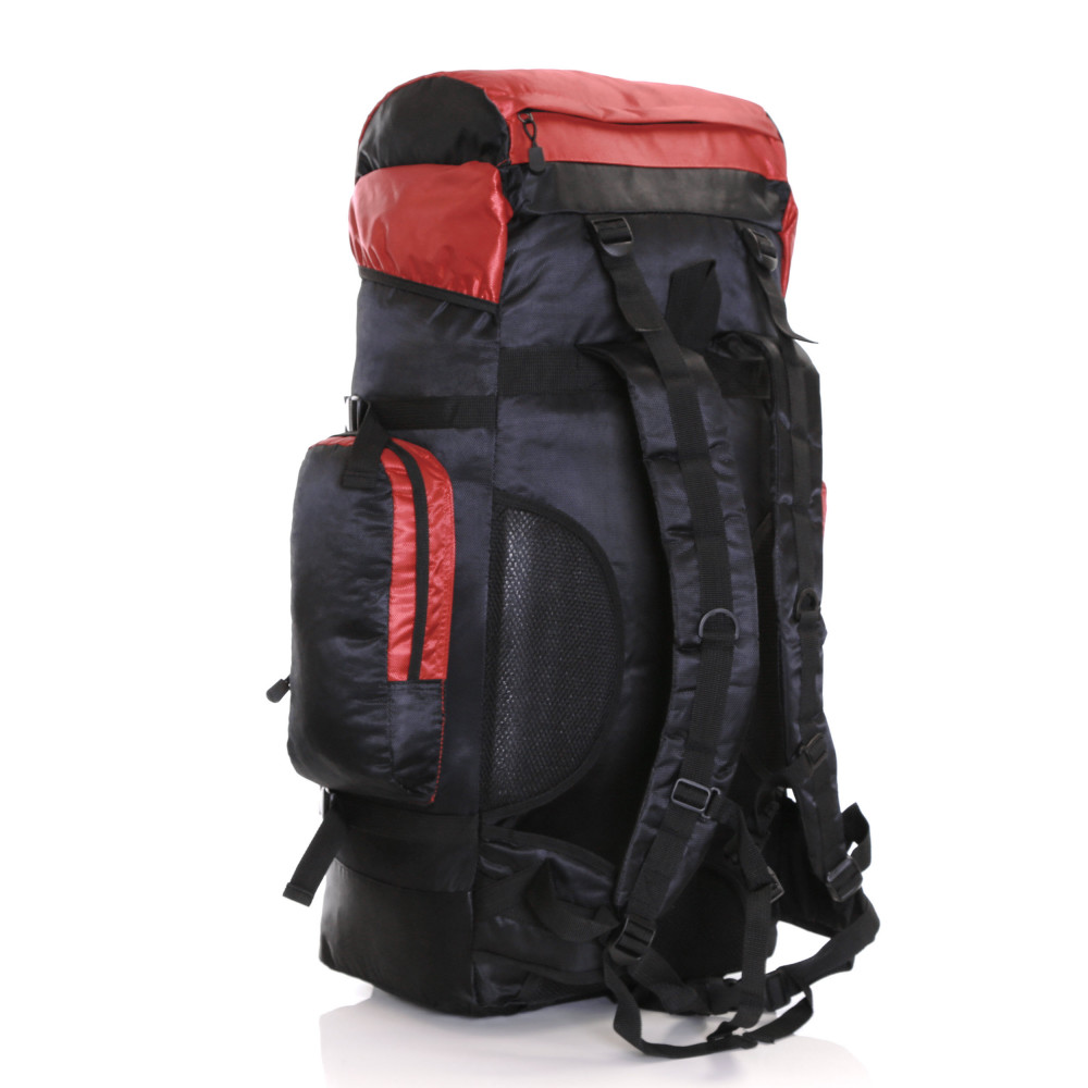 Karabar Makalu 80 Litres Travel Backpack, Black/Red 6