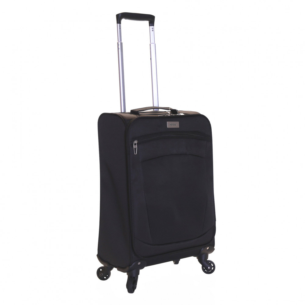 Karabar Marbella Lightweight Carry-on Suitcase, Black