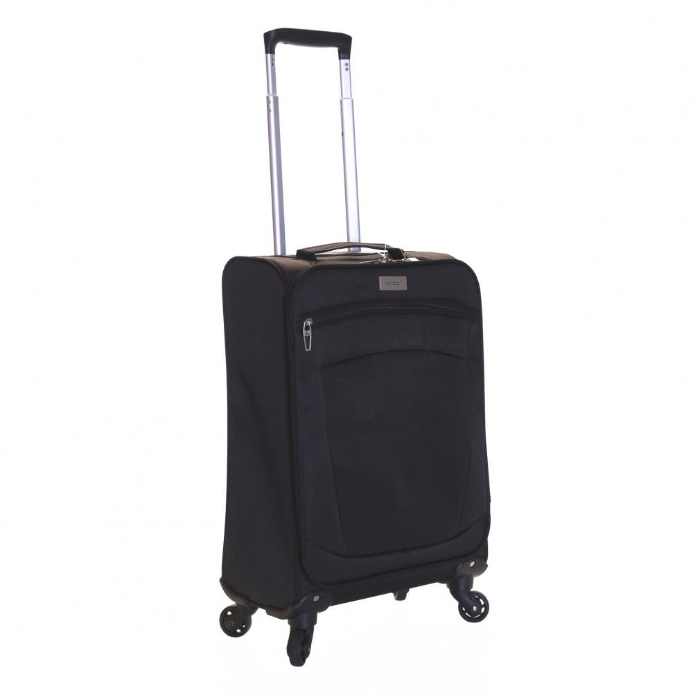 Karabar Marbella Lightweight Carry-on Suitcase, Black