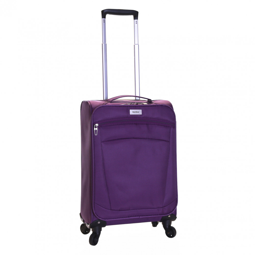 Karabar Marbella Lightweight Carry-On Suitcase, Aubergine