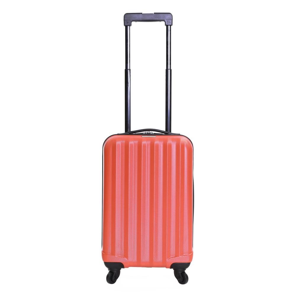 Karabar Monaco Cabin Hard Suitcase, Red Carry On