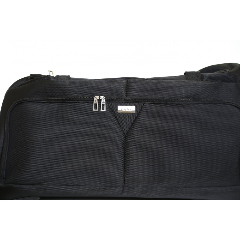 Karabar Montoro 34 Inch Wheeled Bag, Black Close Up Look
