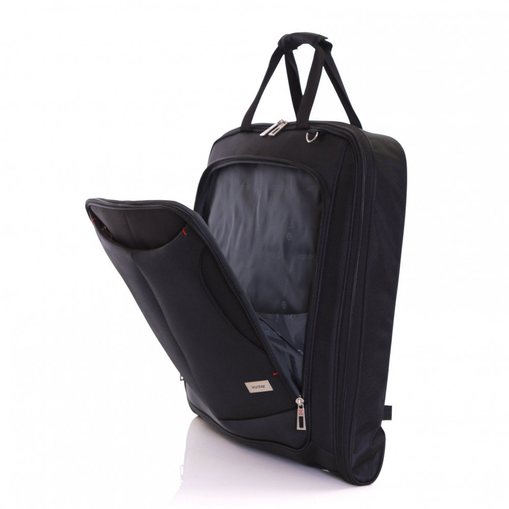 Karabar Salisbury Suit/Garment Carrier, Black Front Pocket