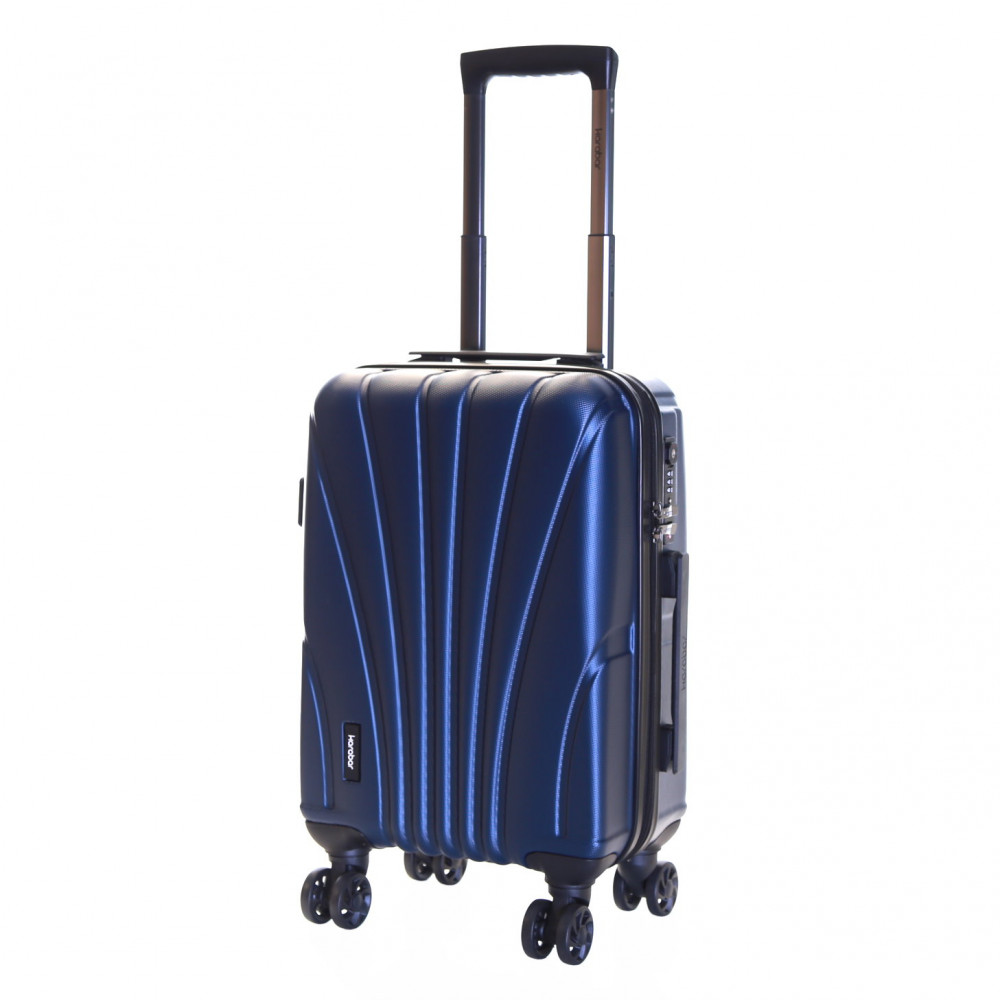 Karabar Seashell Cabin Approved Hard Suitcase, Aegean