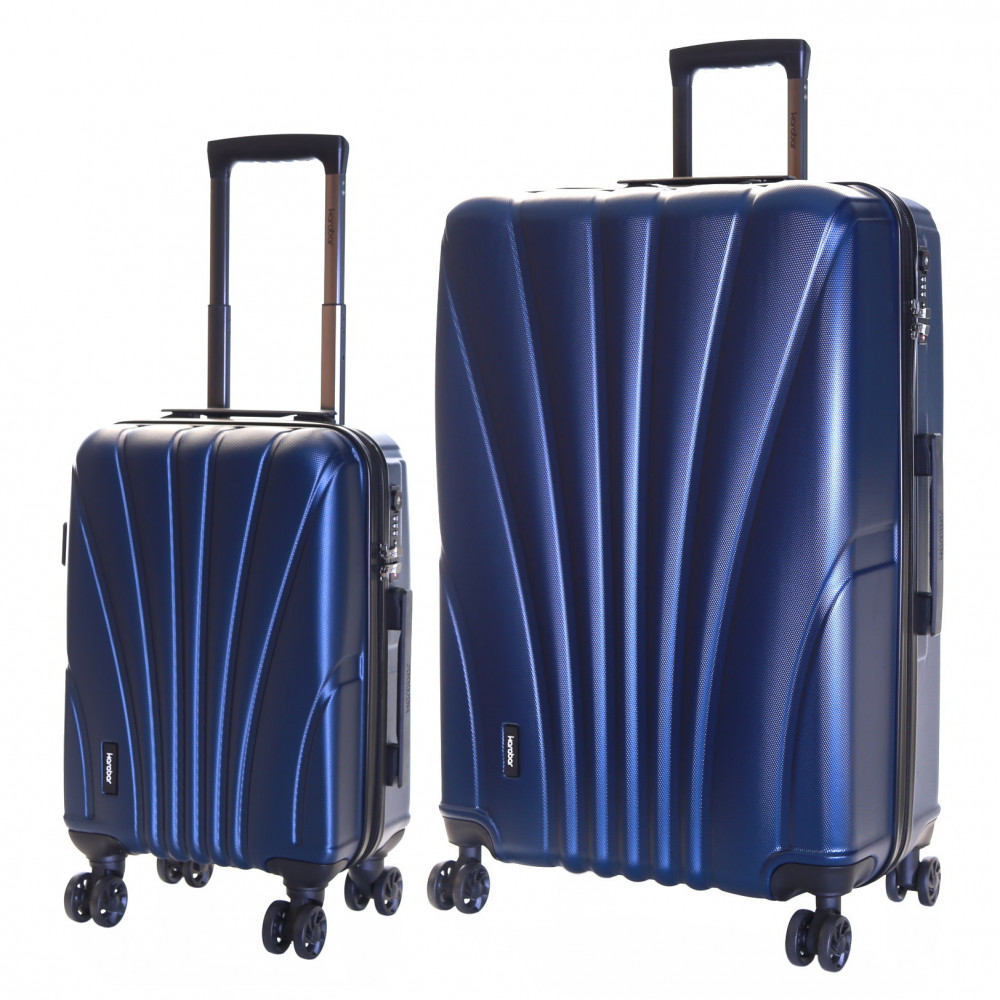 Karabar Seashell Set of 2 Hard Suitcases, Aegean