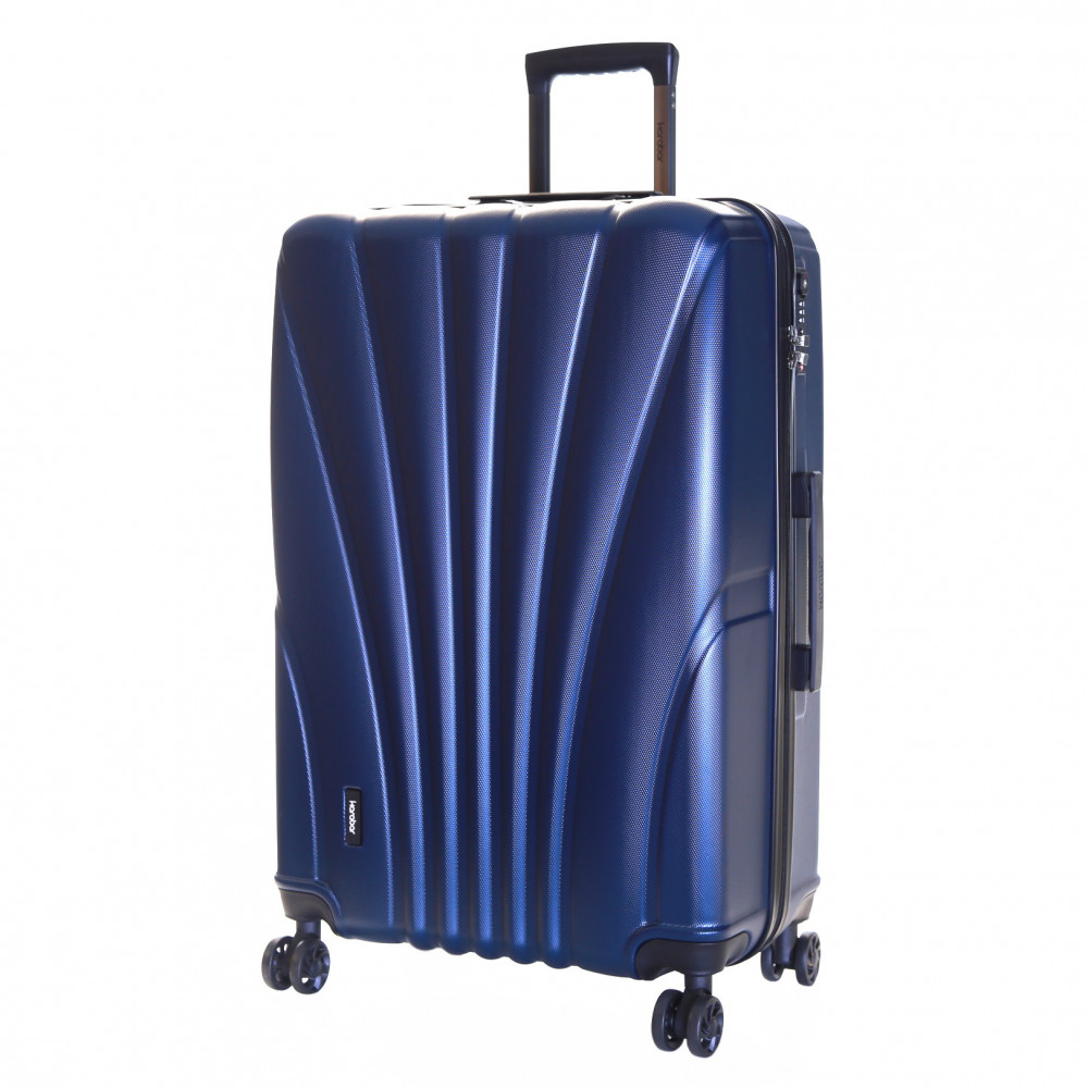 Karabar Seashell Large Hard Suitcase, Aegean