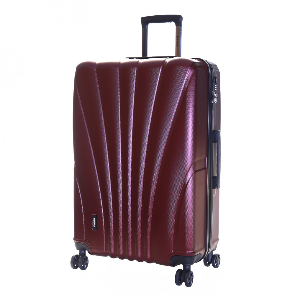 Karabar Seashell Large Hard Suitcase, Grape