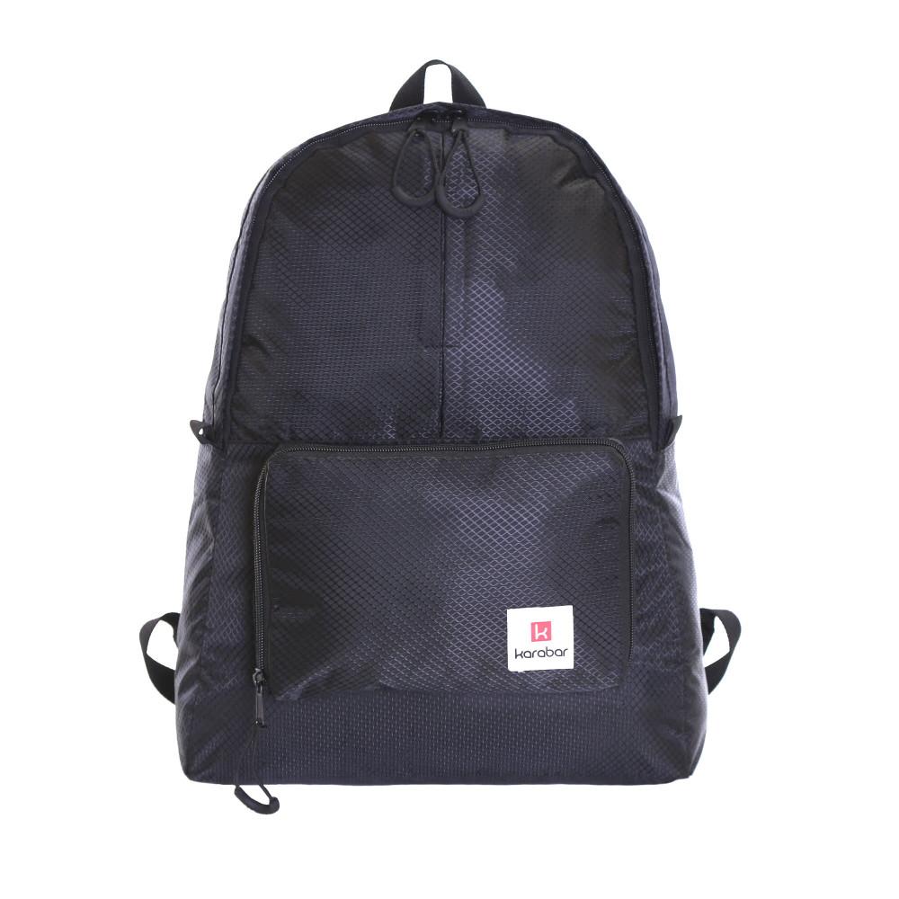 Karabar Sintra 15 Litre Foldable Backpack, Ink Black