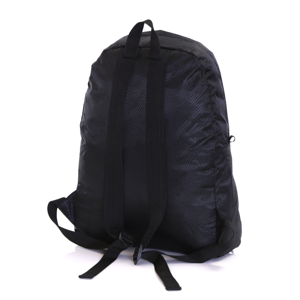 Karabar Sintra 15 Litre Foldable Backpack, Ink Black Back