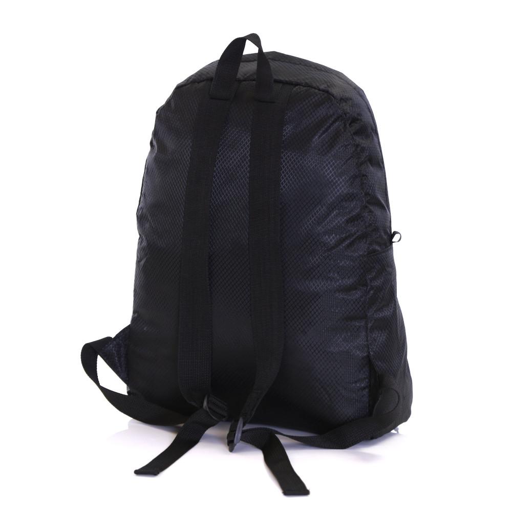 Karabar Sintra 15 Litre Foldable Backpack, Ink Black Back