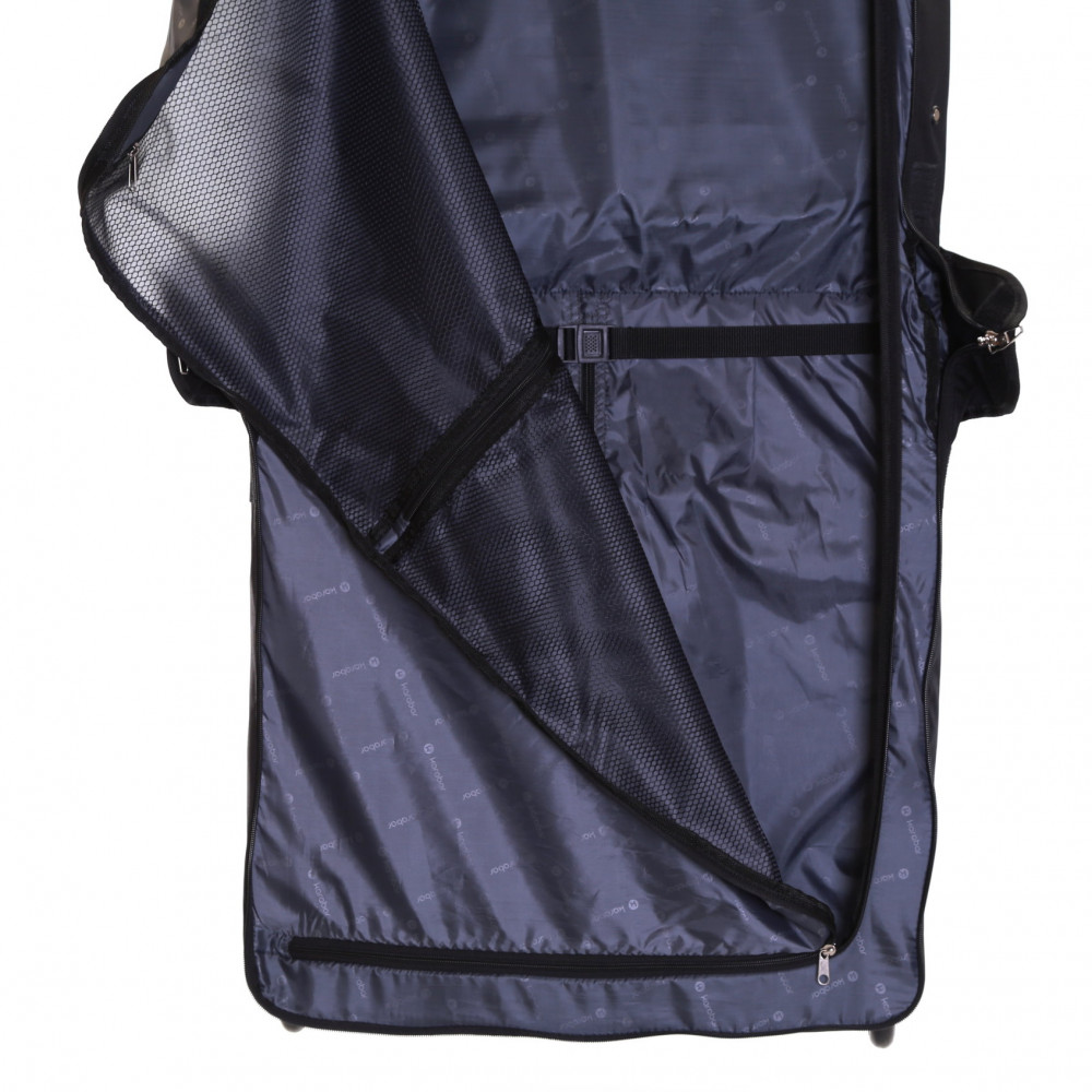 Karabar Stanley Wheeled Suit/Garment Carrier, Black Inside