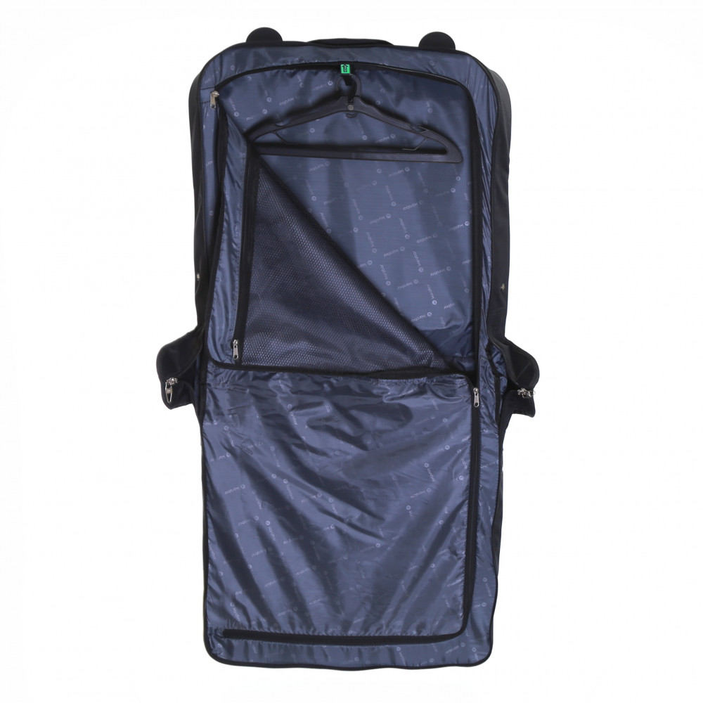 Karabar Stanley Wheeled Suit/Garment Carrier, Black Inside Full