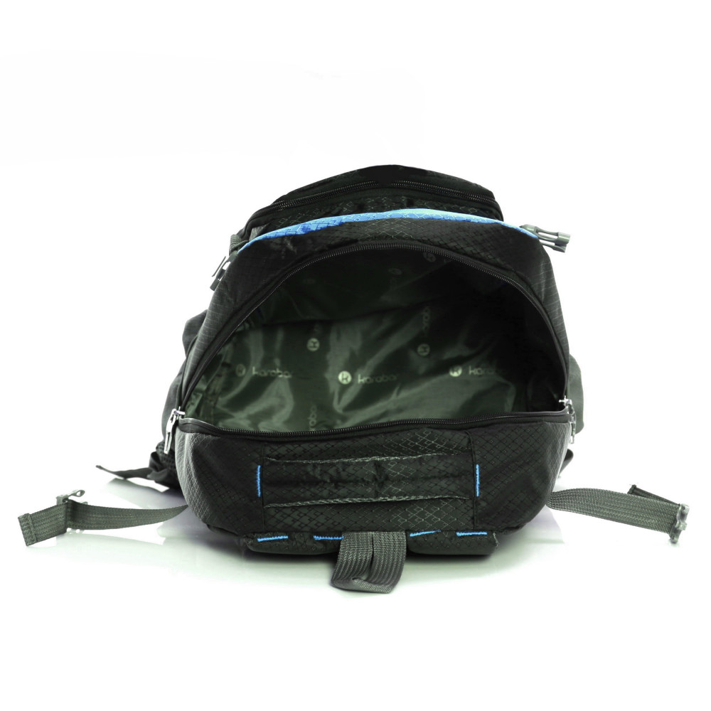 Karabar Stretton 40 Litre Backpack, Blue Inside