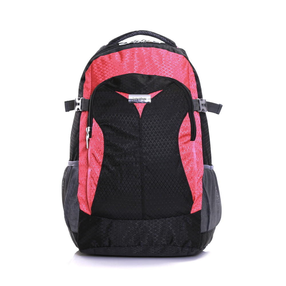 Karabar Stretton 40 Litre Backpack, Pink Front