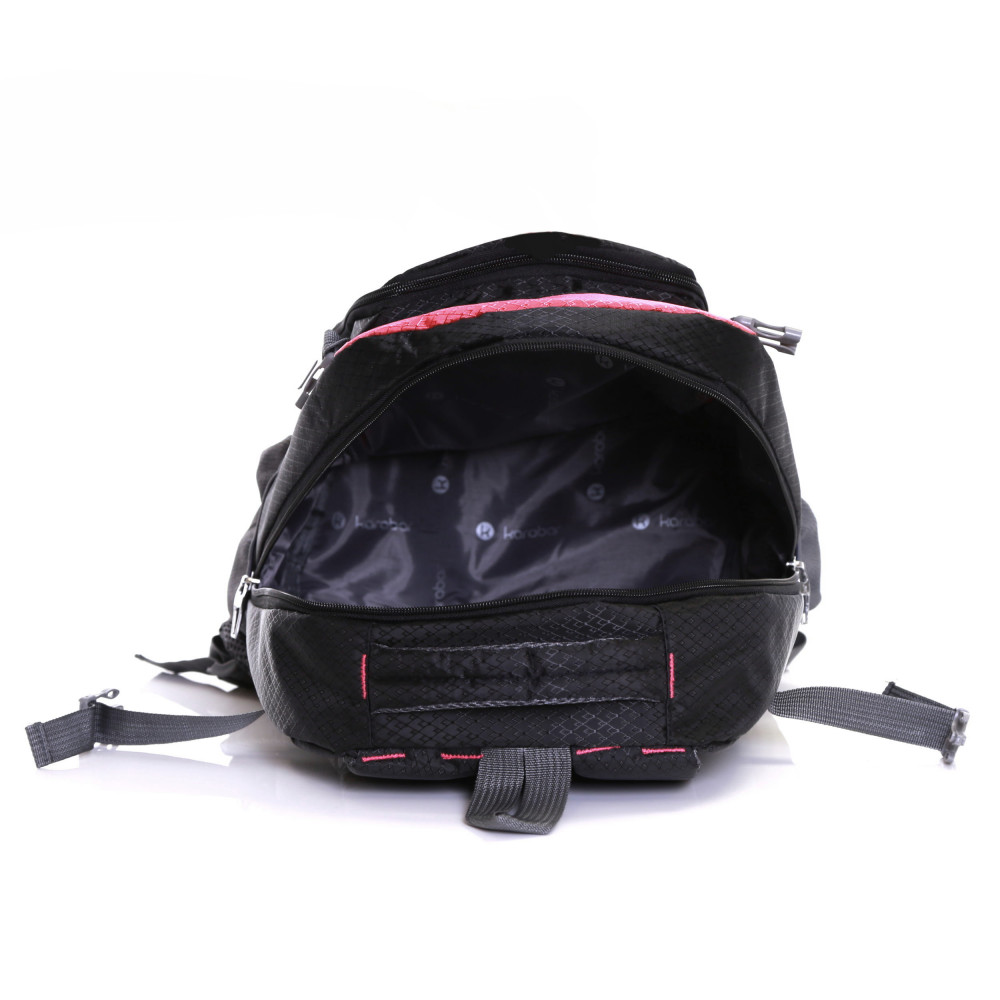 Karabar Stretton 40 Litre Backpack, Pink Inside