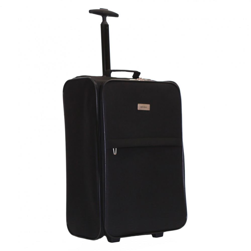 Karabar Trento Cabin Approved Folding Suitcase, Black