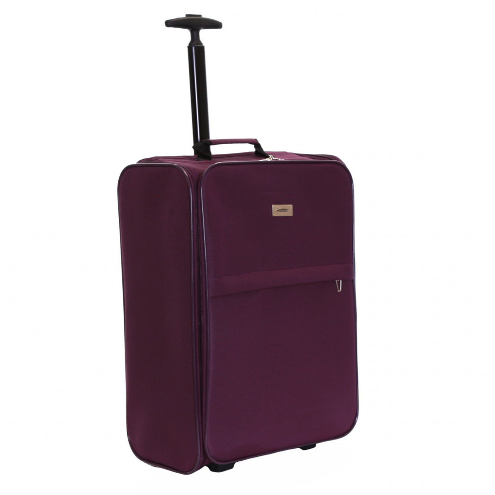 Karabar Trento Cabin Approved Folding Suitcase, Plum
