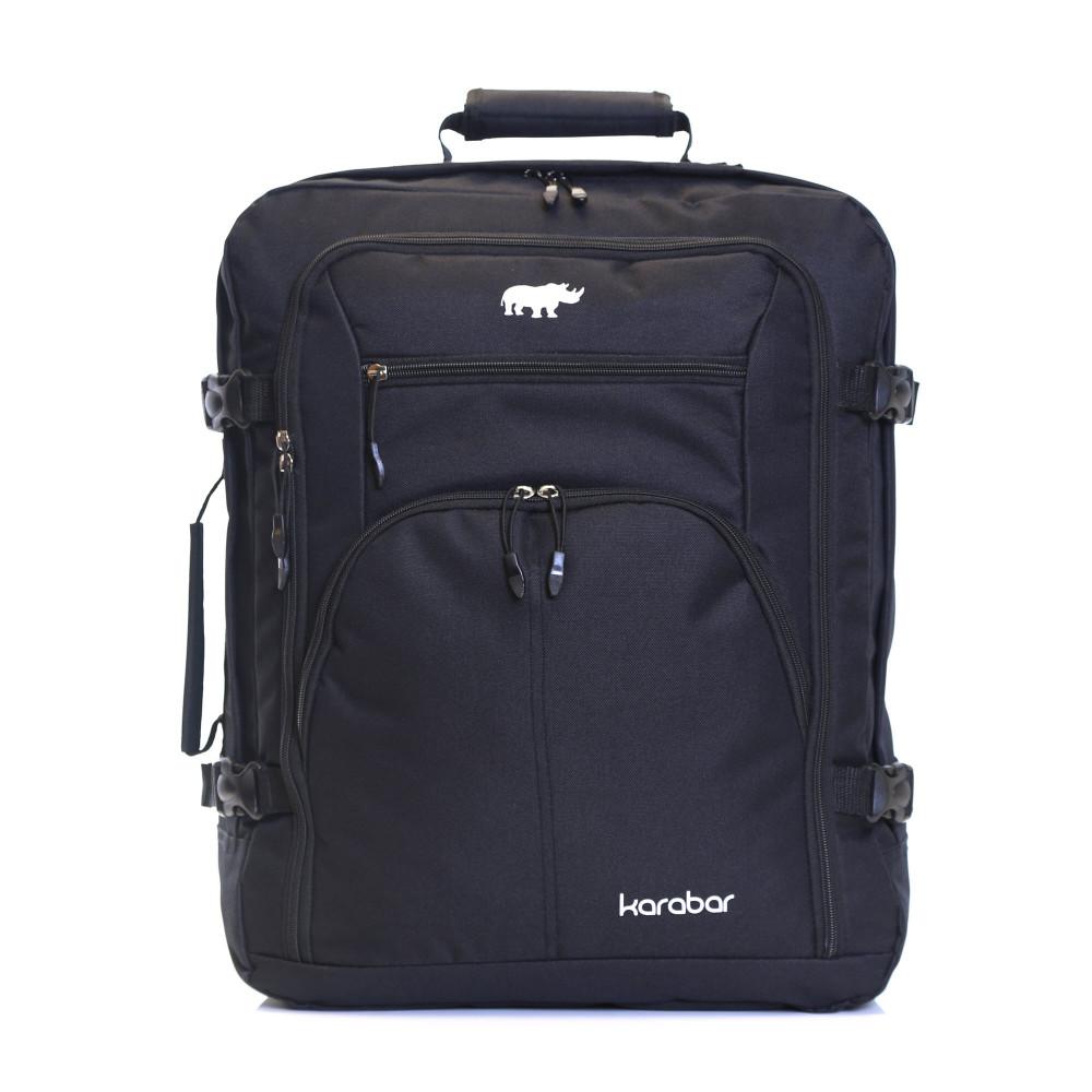 Karabar Warner Cabin Approved Backpack, Black