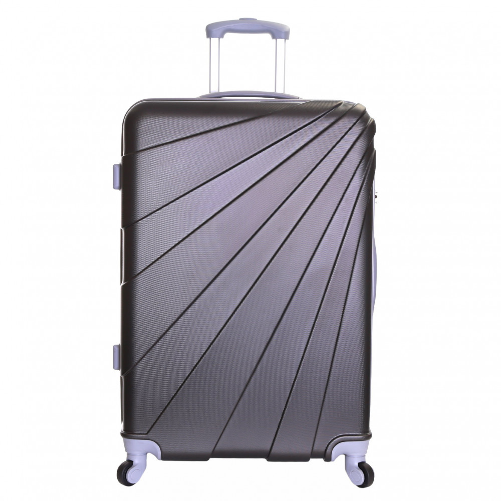 Slimbridge Fusion Large Hard Suitcase, Graphite
