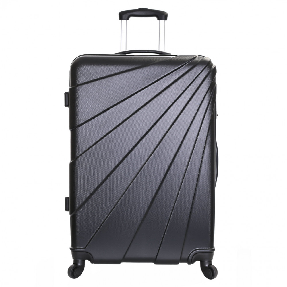 Slimbridge Fusion Large Hard Suitcase, Black