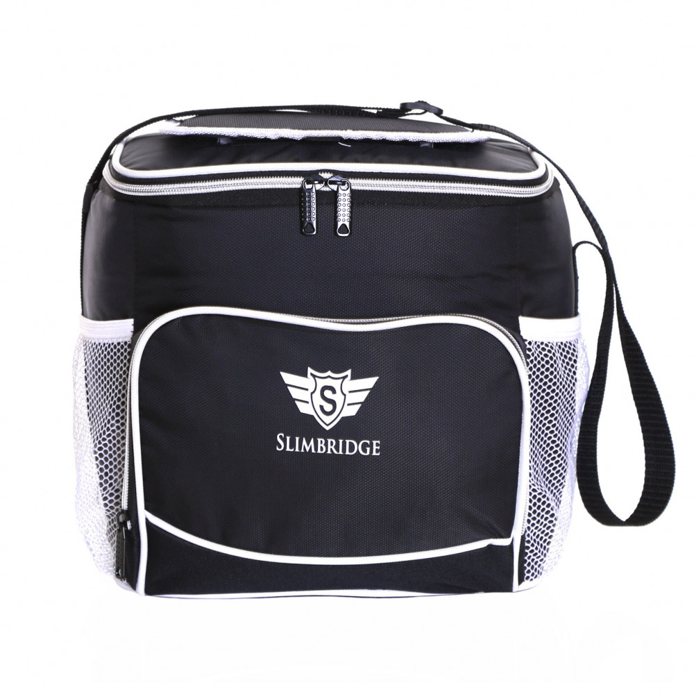 Slimbridge Biggar Insulated Picnic Bag, Black