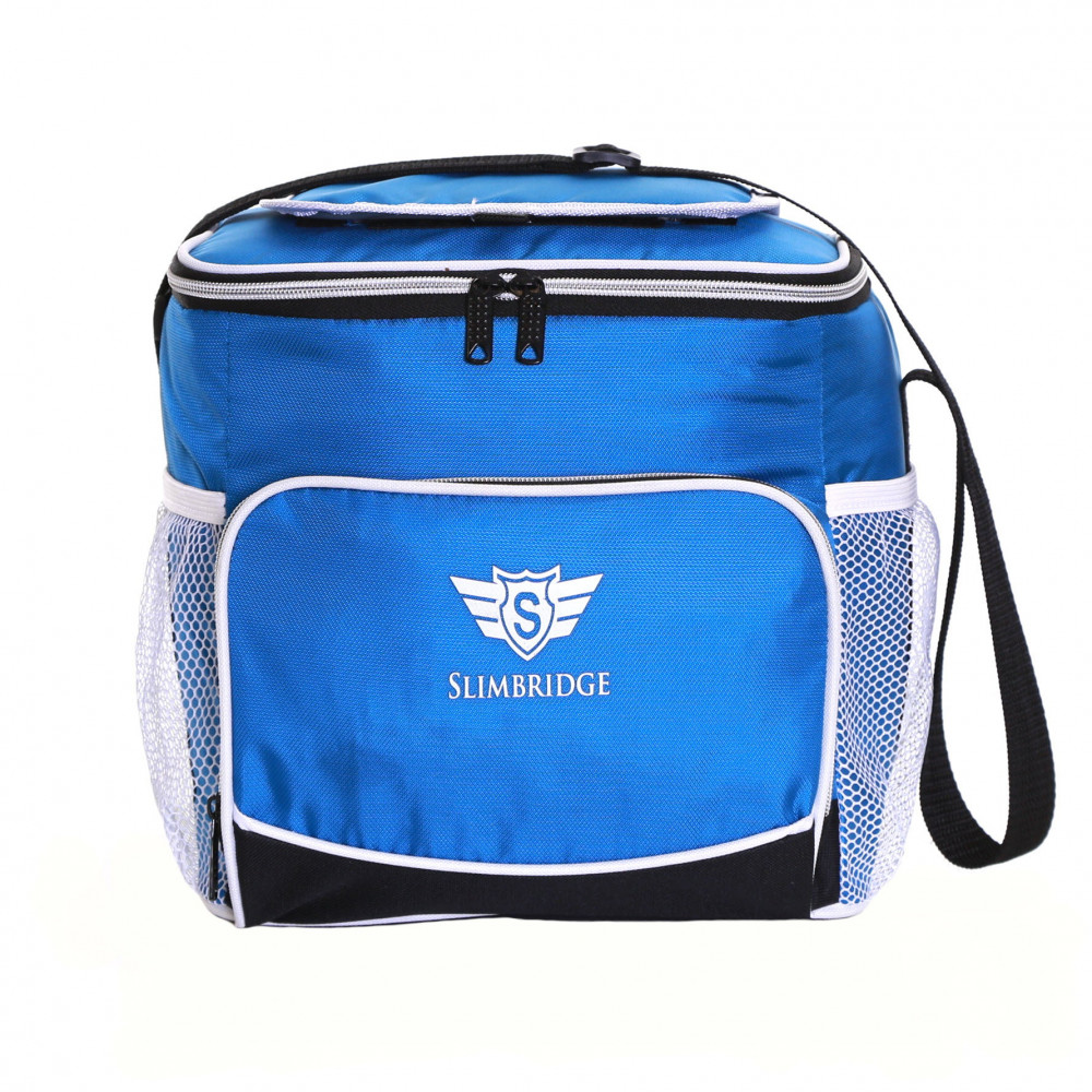 Slimbridge Biggar Insulated Picnic Bag, Blue