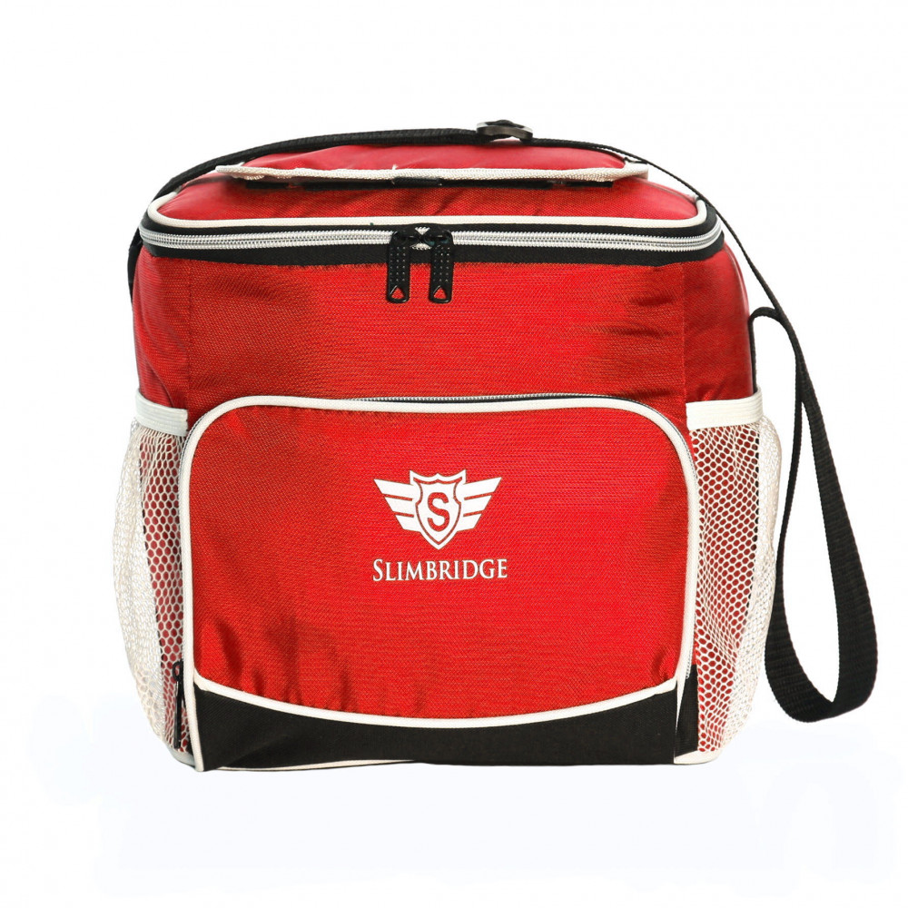 Slimbridge Biggar Insulated Picnic Bag, Red
