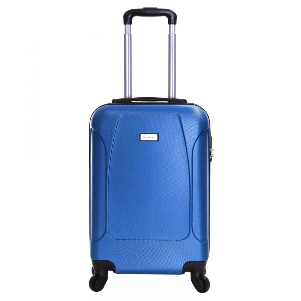 Slimbridge Alameda 55 cm Hard Suitcase, Blue