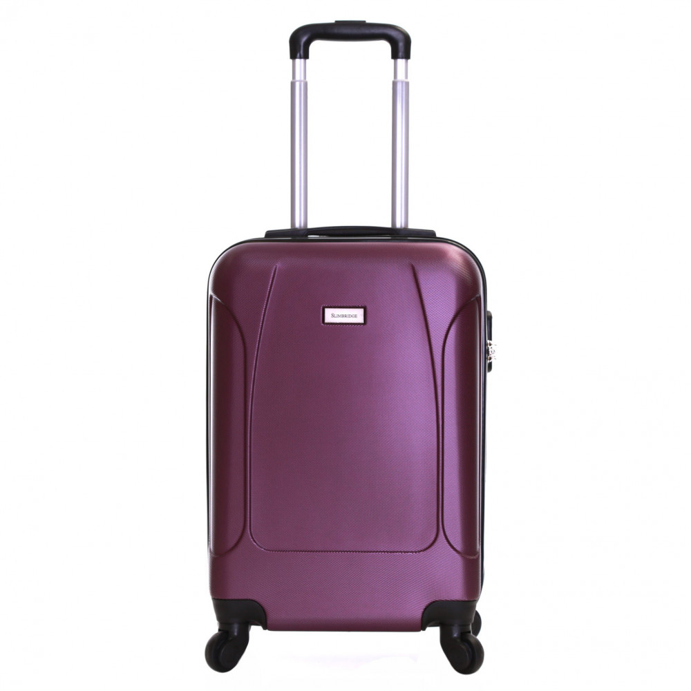 Slimbridge Alameda 55 cm Hard Suitcase, Purple