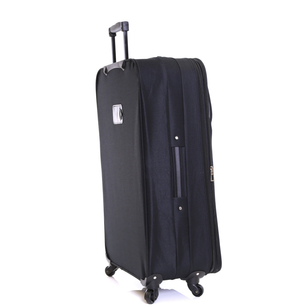 Slimbridge Andalucia 79 cm Expandable Suitcase, Black Side