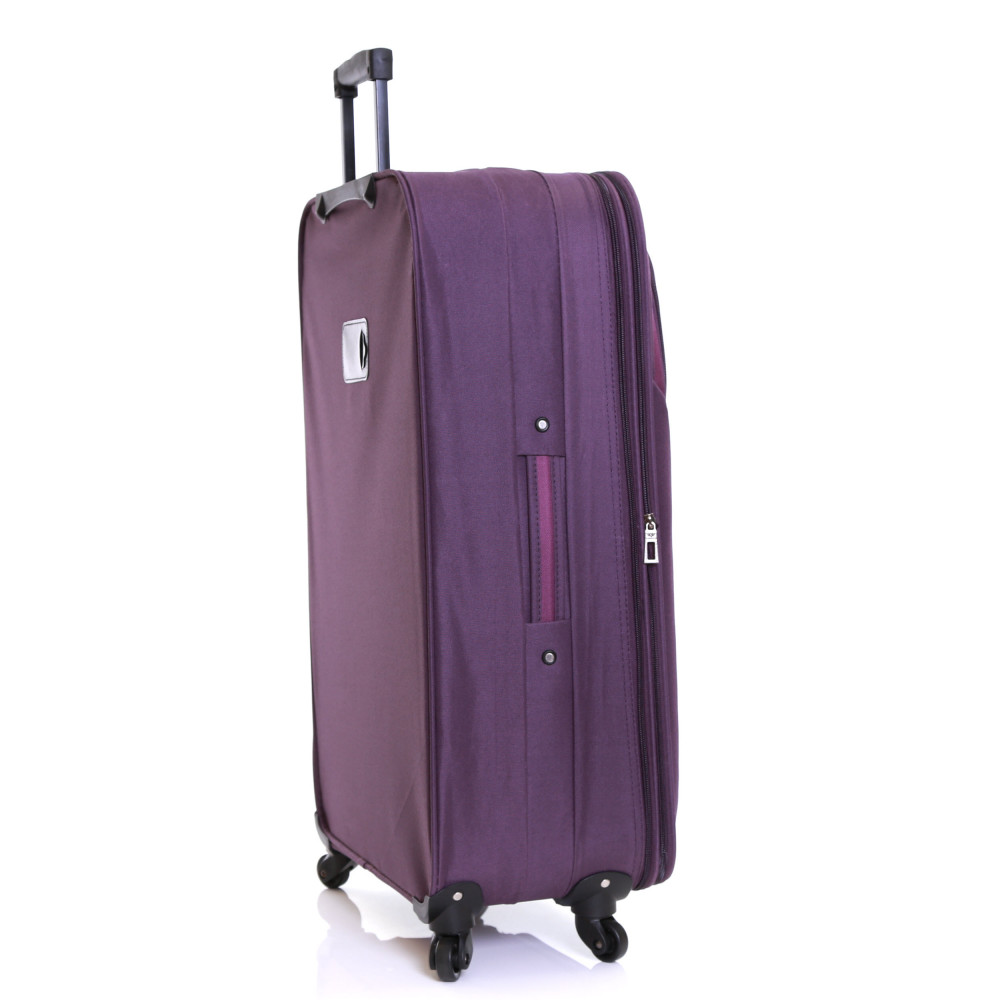 Slimbridge Andalucia 79 cm Expandable Suitcase, Plum Side