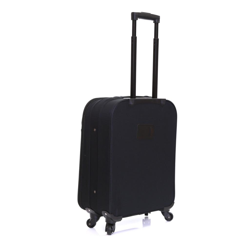 Slimbridge Andalucia Expandable Cabin Suitcase, Black Back