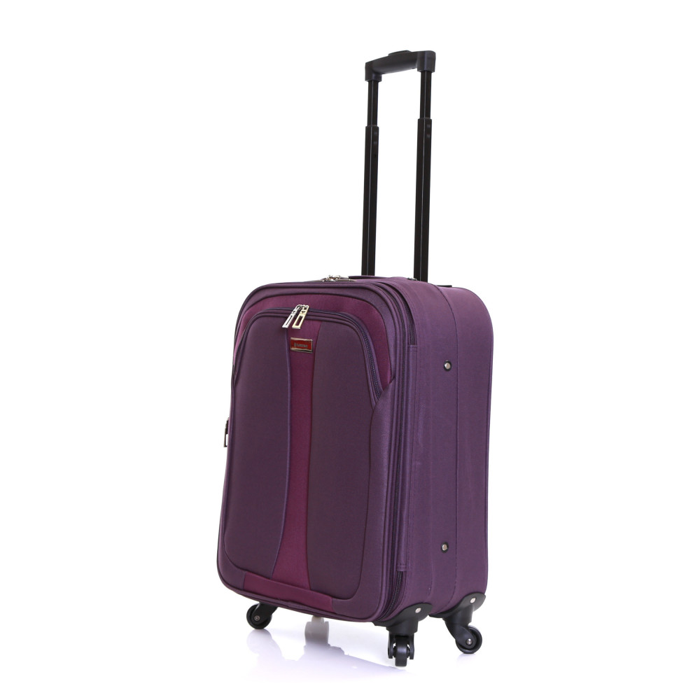 Slimbridge Andalucia Expandable Cabin Suitcase, Plum Front