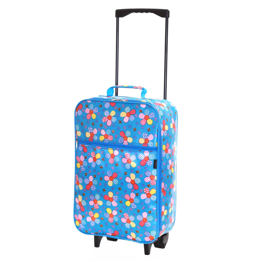 Slimbridge Barcelona Kids Cabin Approved Trolley Bag, Blue