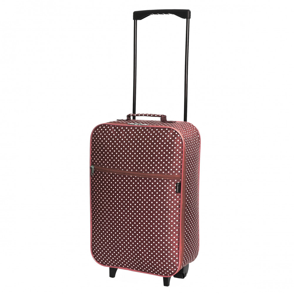 Slimbridge Barcelona Cabin Bag, Red Dots