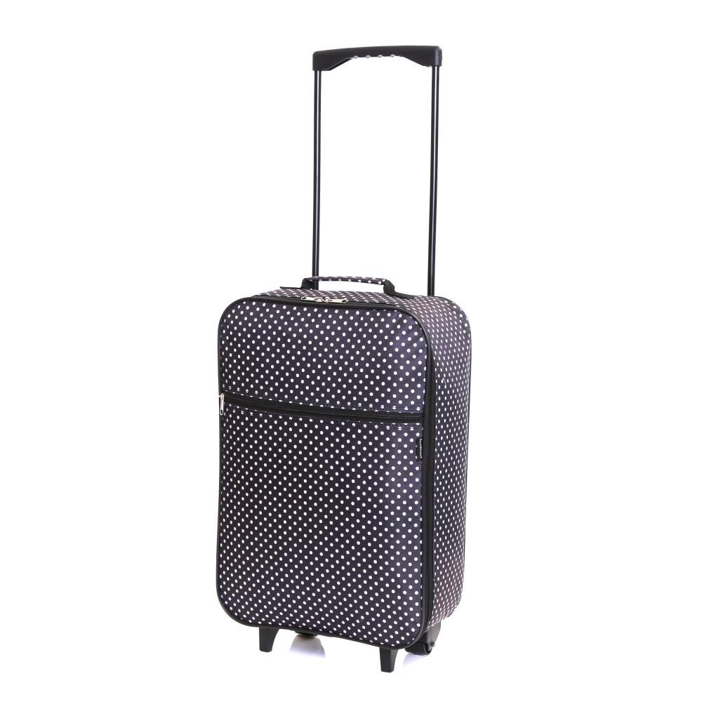Slimbridge Barcelona Cabin Bag, Black Dots