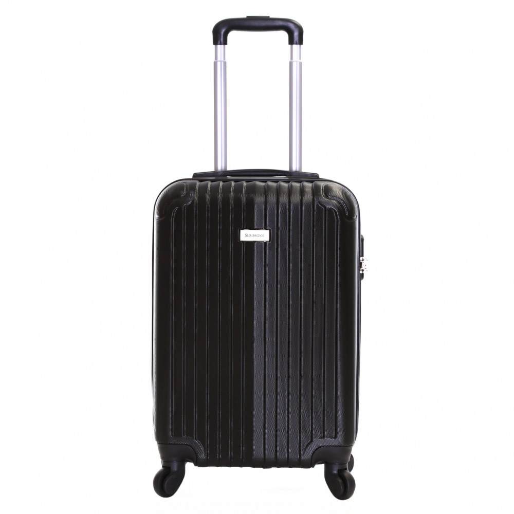 Slimbridge Borba 55 cm Hard Suitcase, Black