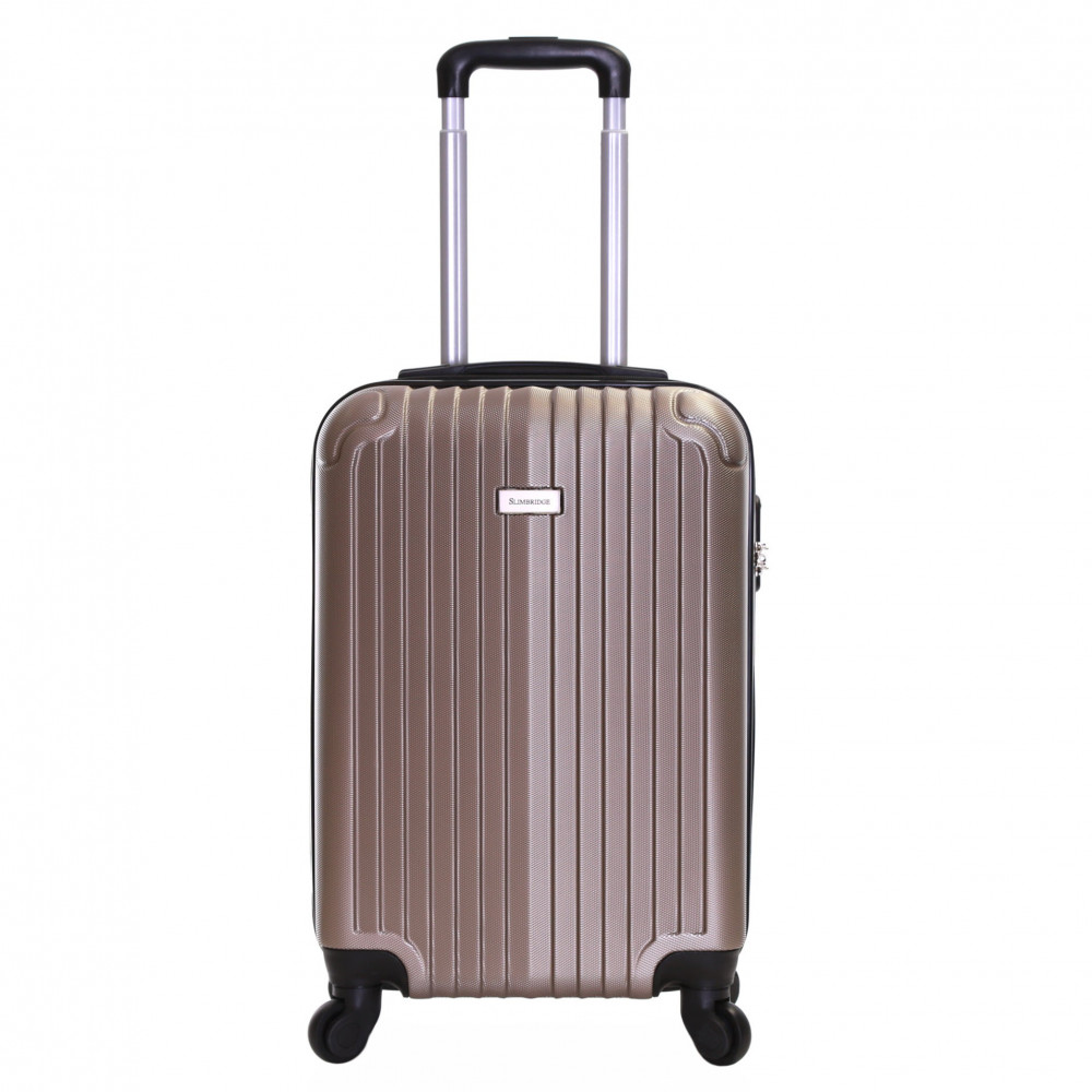 Slimbridge Borba 55 cm Hard Suitcase, Champagne