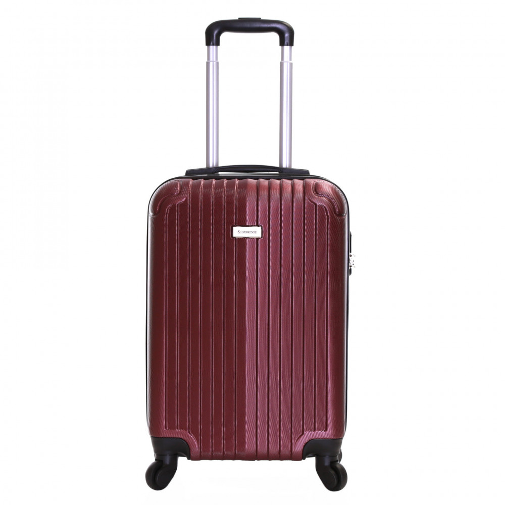 Slimbridge Borba 55 cm Hard Suitcase, Purple