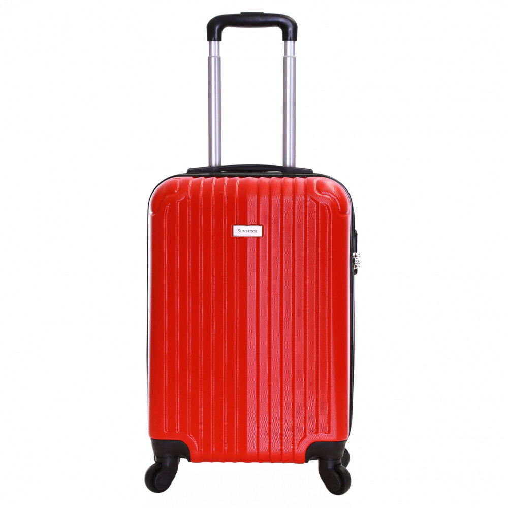 Slimbridge Borba 55 cm Hard Suitcase, Red