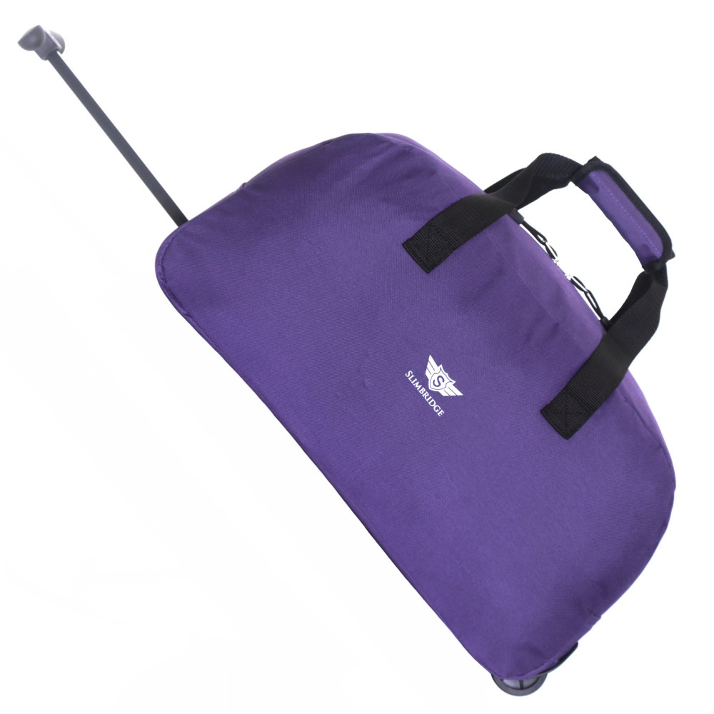 Slimbridge Castletown Cabin Approved Wheeled Bag, Purple