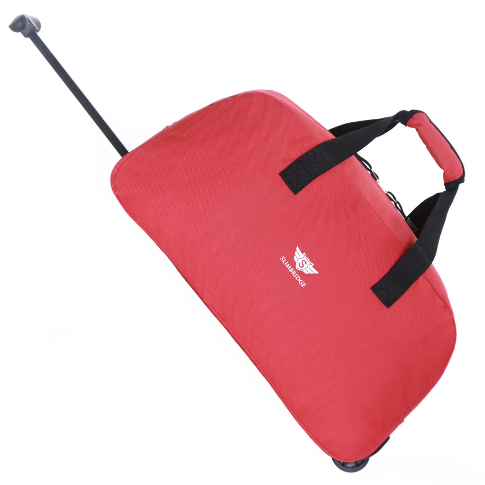 Slimbridge Castletown Cabin Approved Wheeled Bag, Red