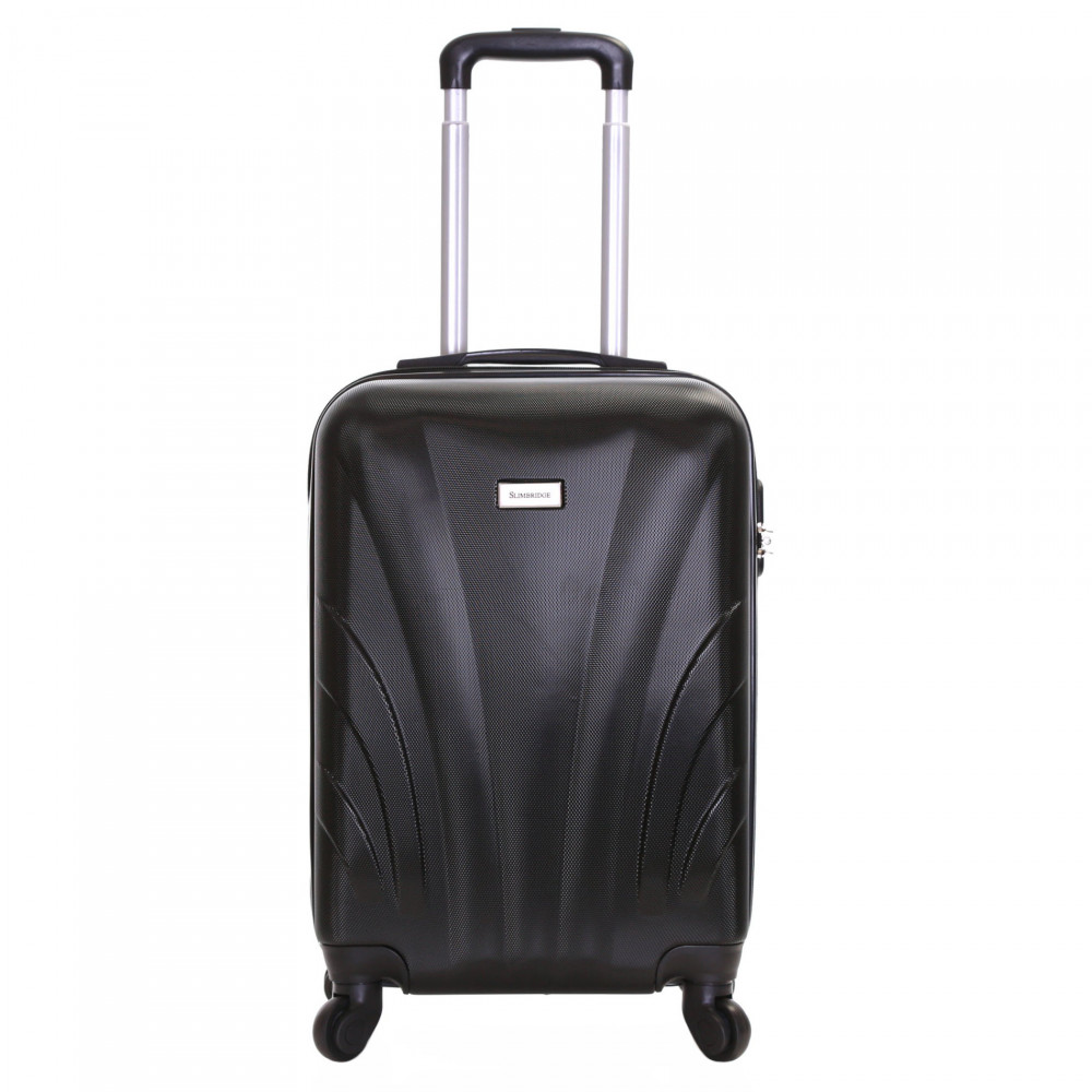 Slimbridge Ferro 55 cm Hard Suitcase, Black