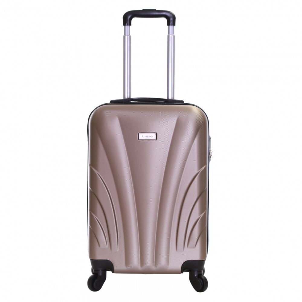 Slimbridge Ferro 55 cm Hard Suitcase, Champagne