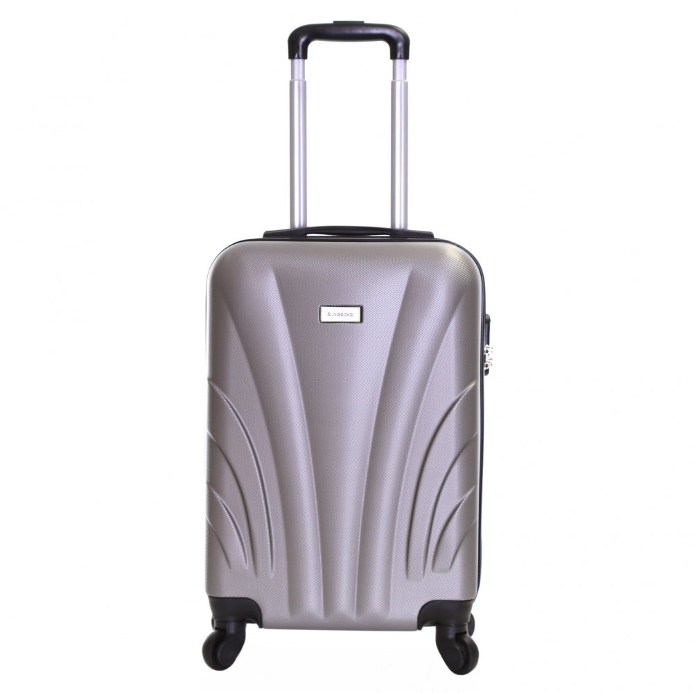 Slimbridge Ferro 55 cm Hard Suitcase, Silver