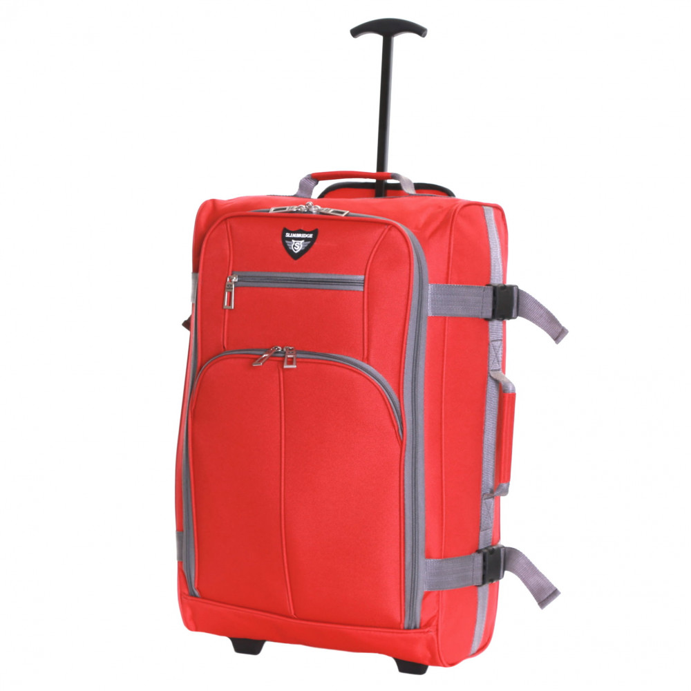 Slimbridge Lobos Cabin Trolley Bag, Red
