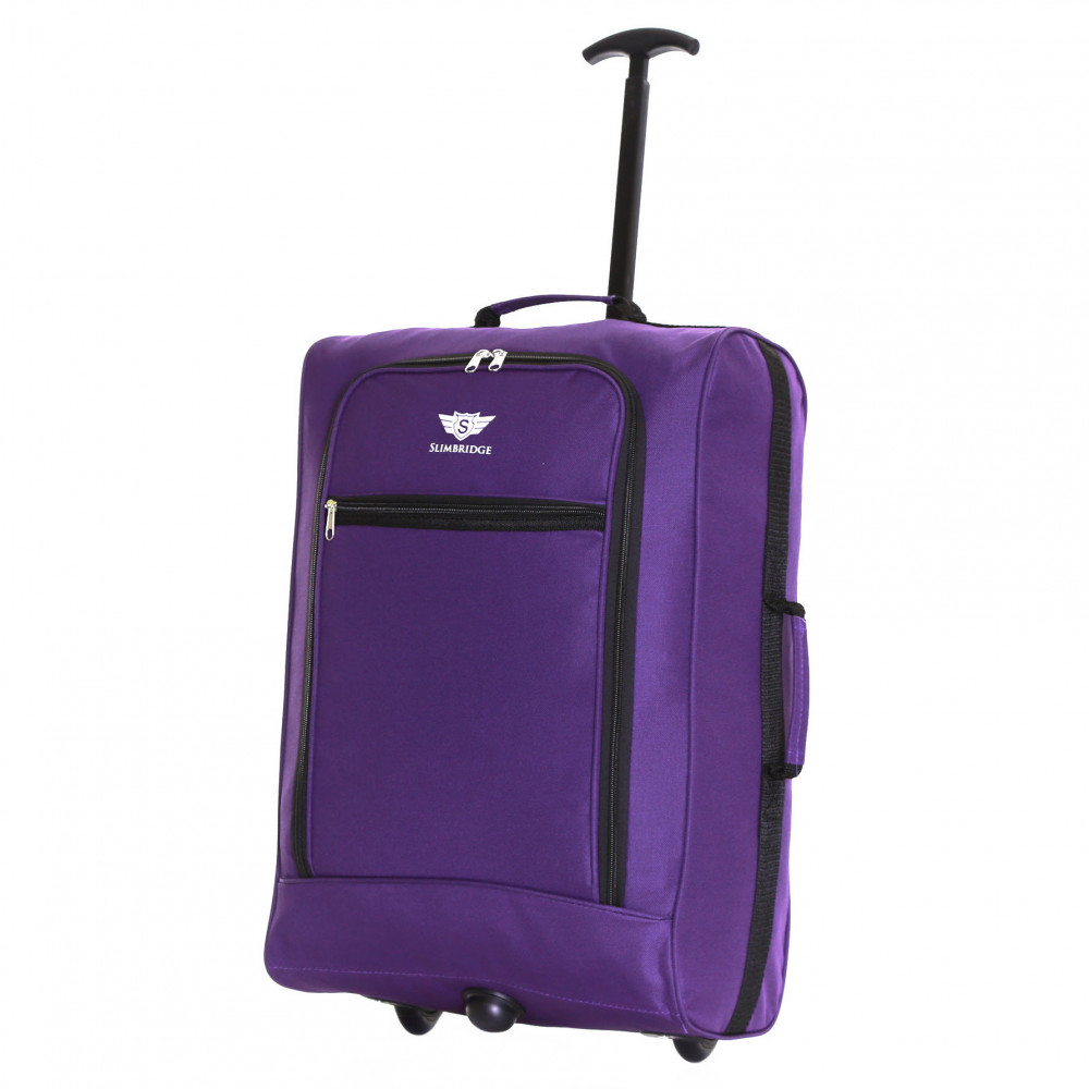Slimbridge Montecorto Cabin Trolley Bag, Purple