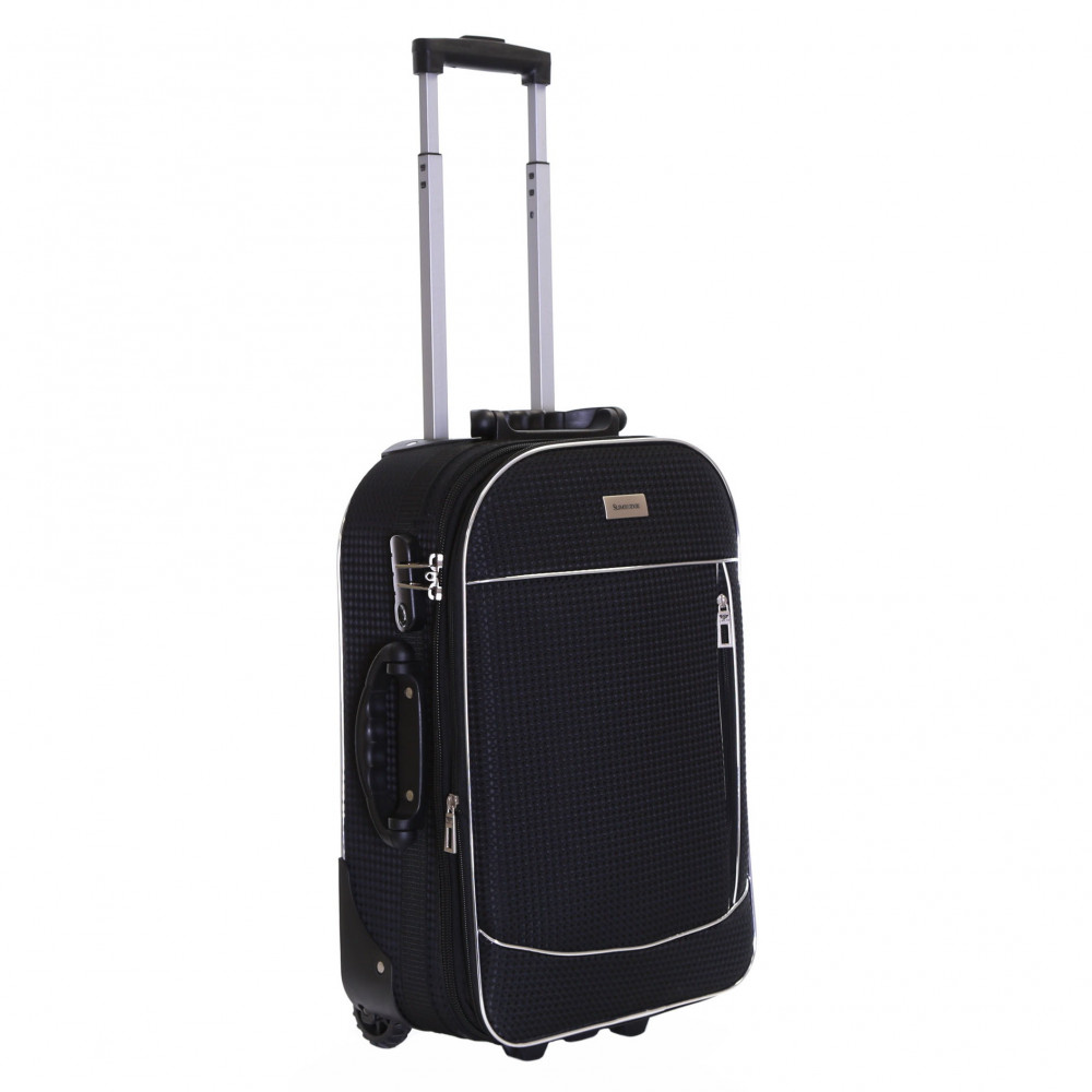 Slimbridge Rennes Expandable Cabin Suitcase, Black