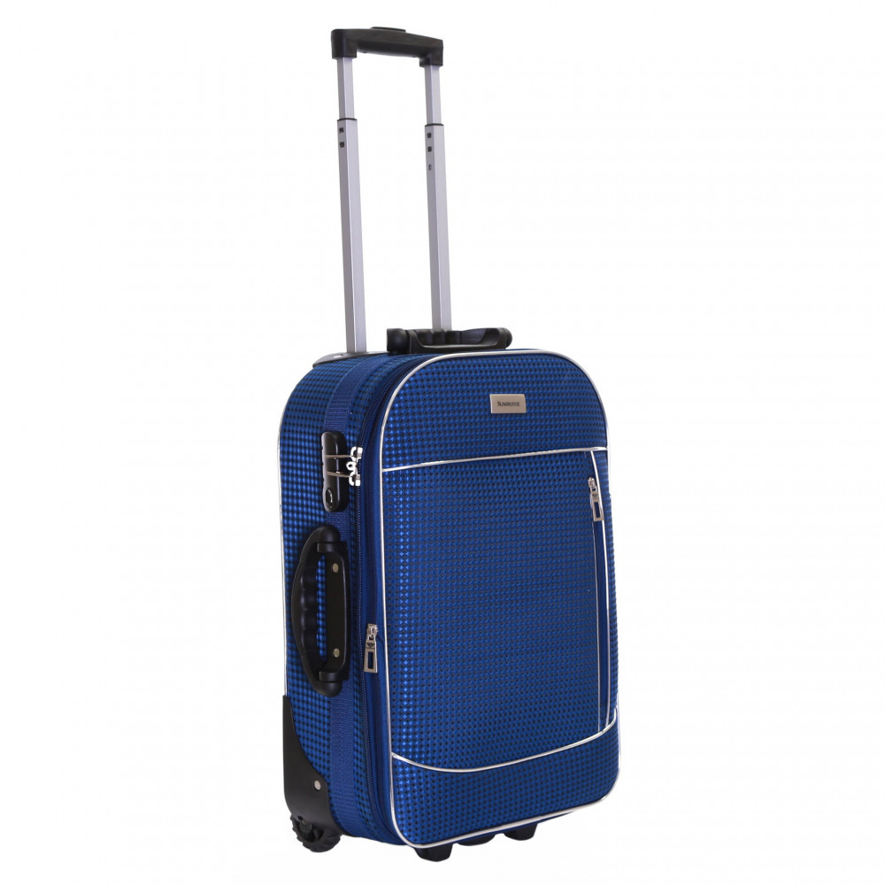 Slimbridge Rennes Expandable Cabin Suitcase, Navy