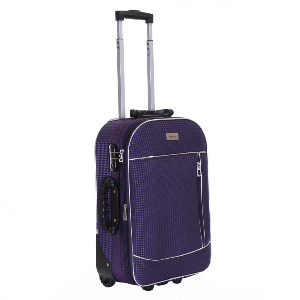 Slimbridge Rennes Expandable Cabin Suitcase, Plum